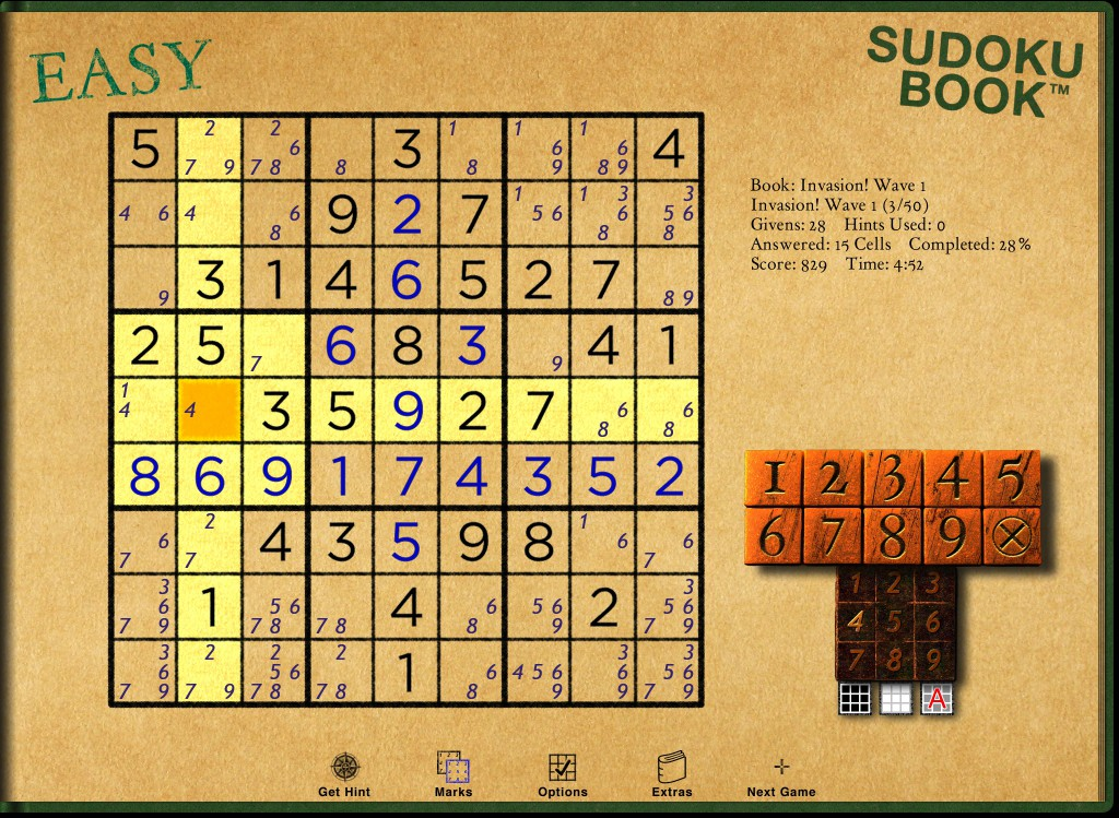 Sudoku Book 3 screenshot
